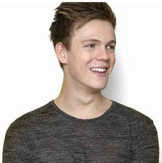 17. Caspar Lee His smile and dimples and eyes and voice and cuteness and everything