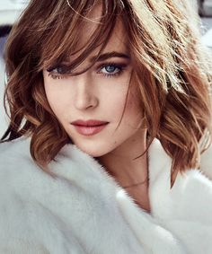 A choice for McCoy's sister, Donna, who seems to be accepted as 'near to canon' - Dakota Johnson. Found her by looking for brunette actresses with blue eyes. Not seen her films yet! (!)