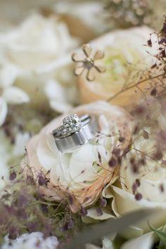 Photo by Jeannine. #WeddingFloristsMN #WeddingRings