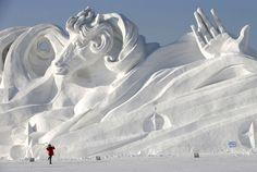 Sapporo Snow Festival.  Hokkaido, Japan   |   さっぽろ雪まつり