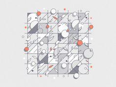 Leaf Grid - Remix 3