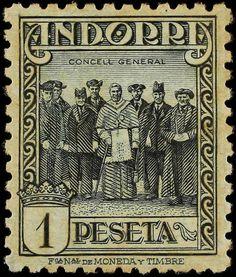 Andorra Stamp
