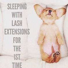 Lol so true! #lashesextensions #lasheslonger