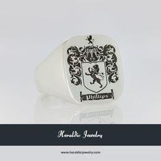Custom crest jewelry
