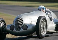 Mercedes Silver Arrow from 2012 Goodwood Revival