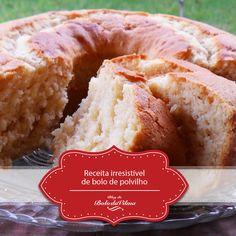 Bolo da Vilma: Receita irresistível de bolo de polvilho