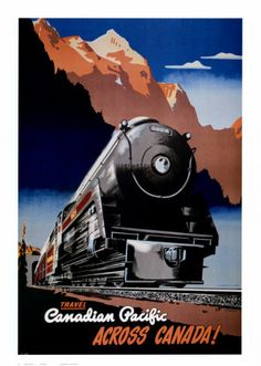 "Dream Trip....""Return to Vancouver and take a train to Banff, Lake Louise"""