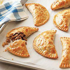 Turkey Empanadas. Yummy...with just a few tweeks to this recipe. | MyRecipes.com
