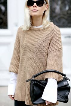 This Classic Layering Trick Is Undeniably Chic- turtle necks are still essential '16