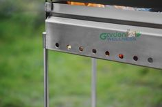 Revive in your garden Stainless Steel Bbq Grill, Garden Accessories, Woodburning, Grilling, Outdoors, Wood Burning, Crickets, Pyrography, Outdoor Rooms