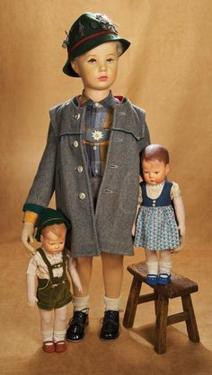 Kaleidoscope: 313 German Character Mannequin Doll by Kathe Kruse