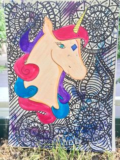 This is my first unicorn hope you liked it. Hope You, Unicorn, A Unicorn, Unicorns