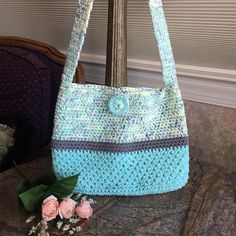 Marvelous Crochet A Shell Stitch Purse Bag Ideas. Wonderful Crochet A Shell Stitch Purse Bag Ideas. Crochet Shell Stitch, Crochet Tote, Crochet Handbags, Crochet Purses, Bead Crochet, Crochet Shoulder Bags, Shoulder Purse, Shoulder Strap, Spring Purses