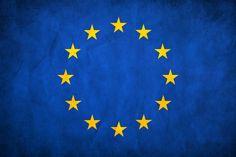 European Union Grunge Flag by think0.deviantart.com on @DeviantArt