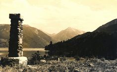 Chief Joseph's grave marker at Wallowa Lake, Oregon by OSU Special Collections & Archives : Commons, via Flickr