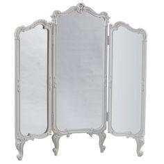 white folding screens | White French Folding Screen | ACHICA
