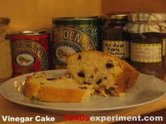 Vinegar Cake - Recipe No 130