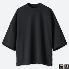 Discover the new selection of Short Sleeved T-Shirts at UNIQLO online. Select from a variety of styles and colours to suit your style. Oversized Shirt Men, Street Casual Men, Capsule Wardrobe Essentials, Stylish Mens Outfits, Tee Design, Half Sleeves, Custom Clothes, Cool Shirts, Colorful Shirts