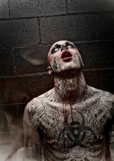 The best tattoos of zombie boy