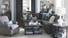 Charcoal Gray Sectional Sofa Foter For The Apartment In 2019