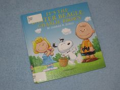 It's the Easter Beagle, Charlie Brown Children's Read Aloud Story Book F...