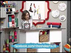 Como hacer de mosaico con E.V.A - YouTube