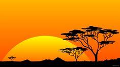 african wallpaper | Scenery Safari Hires Sun Sunrise Africa HD wallpapers