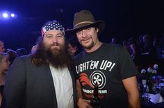 willie robertson and kid rock ~(duck dynasty)