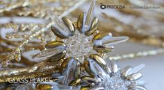 Christmas decorations made from PRECIOSA Traditional Czech Beads