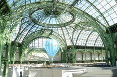 inside grand palais, paris