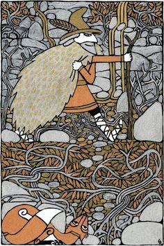 Odin the Wanderer by Hellanim