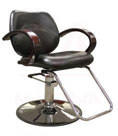 $199 Ashburn Styling Chair in Black