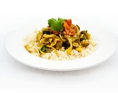 A masala spiced curry. This Masala is made with aubergine (eggplant) and onion in a light creamy sauce. It's made in a slow cooker, but could be made in a pot on the hob too.