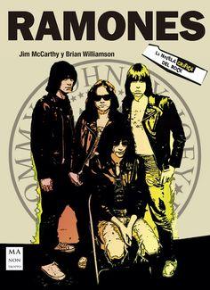 Redbook Ediciones publica una novela gráfica sobre Ramones - Muzikalia Ramones, Bob Marley, Grateful Dead Music, Rock Band Posters, Joey Ramone, Concert Posters, Gig Poster, Music Posters, Punk
