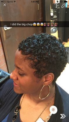Big Chop/ Stylist Nicole Weems-Wilson