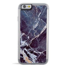 Our 'Earth' iPhone case will give your phone the style and personality it's been waiting for. With a sturdy back and durable flexible rubber rim, this black marble case protects all sides of your phon