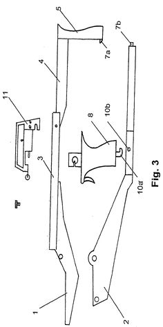 Patent US20050279338 - Tiller. bow and trigger mechanism for a crossbow, and a crossbow