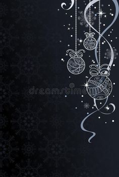 Christmas Background Stock Vector (Royalty Free) 157469318 - Linci - Source by background Christmas Doodles, Christmas Mood, Christmas Lights, Xmas, Vector Christmas, Christmas Poster, Black Christmas, Noel Christmas, Christmas Background