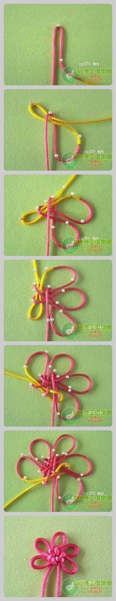 Chinese knot flower