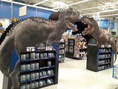In-Store POS - 3D Design - Temporary Cardboard Design - Jurassic World