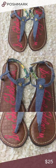 "Sam Edelman Gigi Charm just glamorous Excellent used condition!!! Beautiful sandals ""Gigi Charm"" by Sam edelman size 3 girls. A26 Sam Edelman Shoes Sandals & Flip Flops"