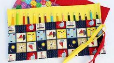 Como fazer um porta lápis em tecido facilmente