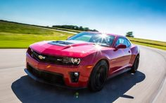 2015-chevy-camaro-zl1-front-left-side-view Ford Shelby, Shelby Gt500, Camaro Zl1, Chevrolet Camaro, 2012 Ford Explorer, Modern Muscle Cars, Chevy Muscle Cars, Pony Car, Car Brands