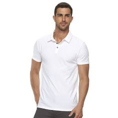The modern style of men's Marc Anthony polo shirt. #mensfashion