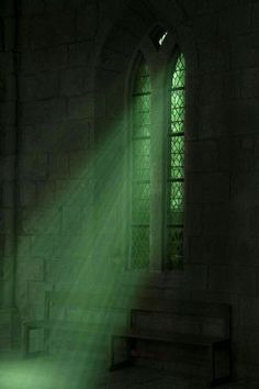Once again, Mont St Michel. This window looked so Slytherin common room like, so I took a picture of it and now I edited it on Photoshop. I'm a Slytherin on Pottermore Slytherin Pride, Slytherin House, Hogwarts Houses, Hogwarts Mystery, Dark Green Aesthetic, Aesthetic Colors, Aesthetic Pictures, Aesthetic Drawings, Aesthetic Girl