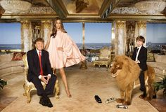Donald Trump, Melania Trump and their son Barron Trump pose for a portrait on April 2010 in New York City. Donald Trump is wearing a suit and tie by Brioni, Melania Trump is wearing a dress by. Get premium, high resolution news photos at Getty Images Trump Tax Plan, Trump Taxes, Trump Family Tree, Donald Y Melania Trump, Torre Trump, Trump Home, Thing 1, First Lady Melania, Ivanka Trump