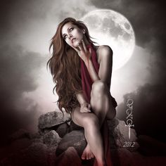 "Retrato de Vampiros - Portrait of Vampires ConvertS ""En busca de su alma"" la luna tiene la respuesta...... ""Looking for your soul"" the moon has the answer..... feature here? - - Credits Stocks Mode..."