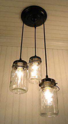 Exeter 5-Jar Pendant - eclectic - pendant lighting - Pottery Barn