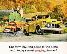1955 Chevrolet Task-Force Trucks