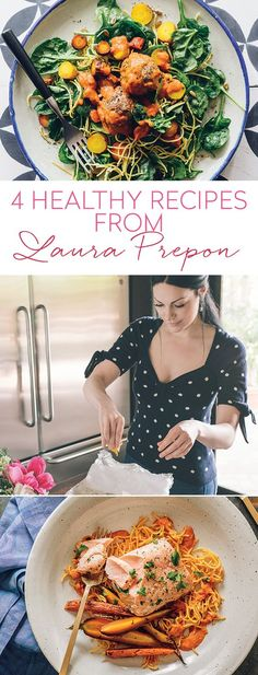 Try four recipes from Laura Prepon's cookbook, The Stash Plan.